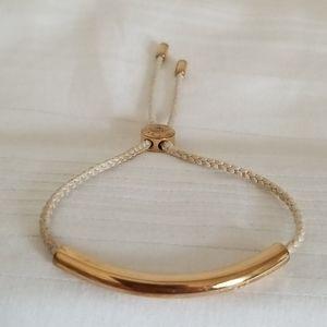 Michael Kors Gold Adjustable Cord Bracelet
